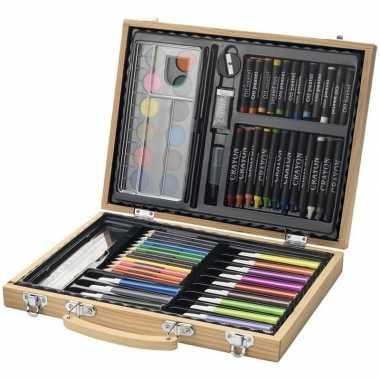 67-delige potloodset / potloden koffer