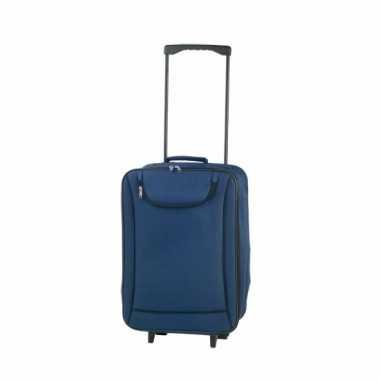 Handbagage trolley blauw 1,1 kg