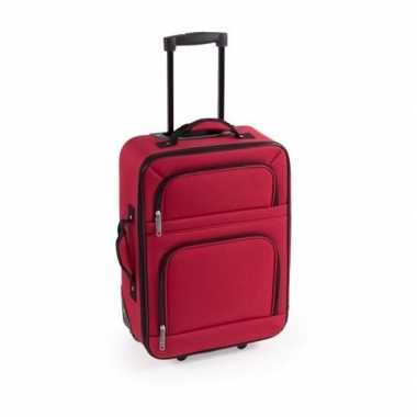Handbagage trolley rood 50 cm