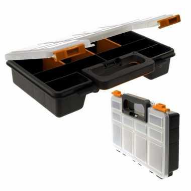 Opberg sorteer box met 8 vakken 29 cm