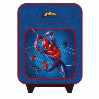 Spiderman handbagage reiskoffer trolley 35 cm voor kinderen